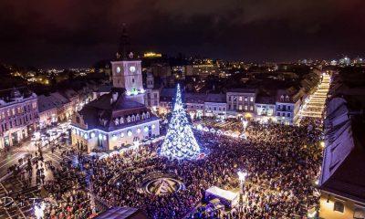 S-a deschis Târgul de Crăciun din Brașov