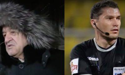 Gigi Becali îi aduce acuze grave arbitrului Istvan Kovacs după meciul cu CFR Cluj