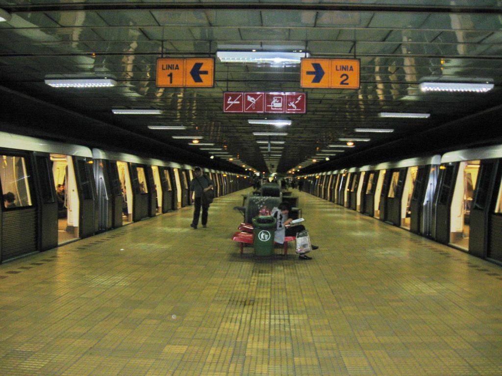 Beat la Metrou, un mecanic de tren prins de politie cu alcolemie mare
