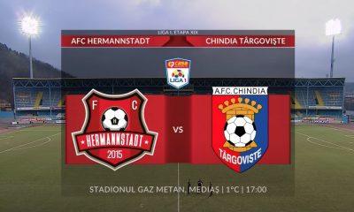 Liga 1: Hermannstadt - Chindia Scor 1-1, rezumat video