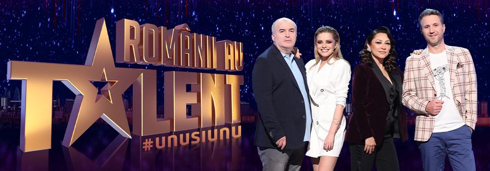 Juriul Românii au talent 2021. Florin Calinescu, Andra, Alexandra Dinu si Andi Moisescu