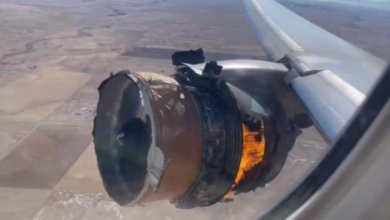 328 de pasageri și-au văzut moartea cu ochii, un motor de la Boeing 777 a explodat în zbor