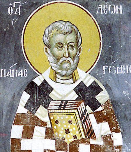 calendar ortodox 18 februarie 2021   Sfantul Leon cel Mare - papa Leon I al Romei