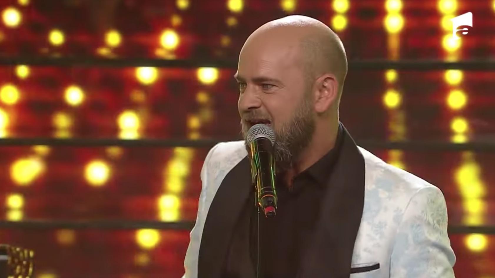 Cosmin Seleși a cântat la Te cunosc de undeva. Emilia Popescu tribut Stela Popescu