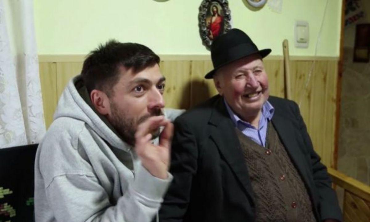 Bunicul Nea Sandu din clipurile lui Mircea Bravo a murit. Ce mesaj a transmis comediantul