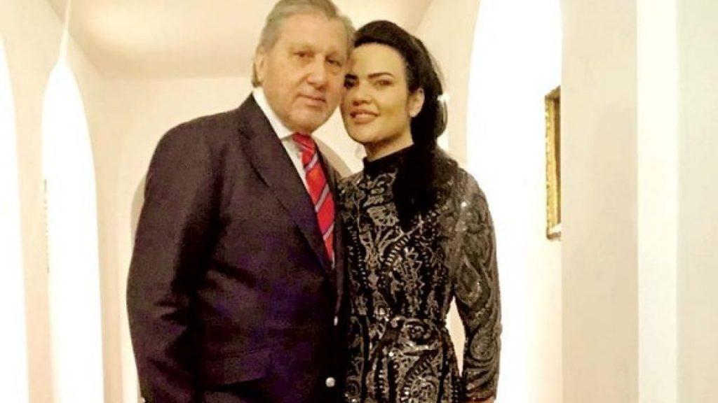 Ilie Năstase și actuala soție. Trebuiau să divorțeze, dar presa spune că s-au răzgândit