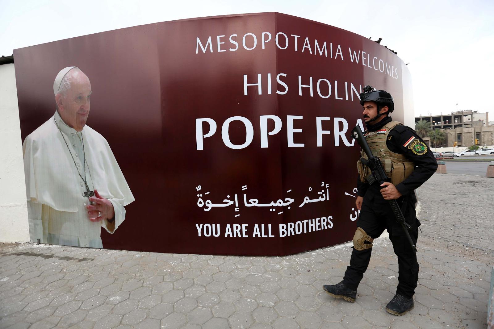 Papa Francis vizita in irak